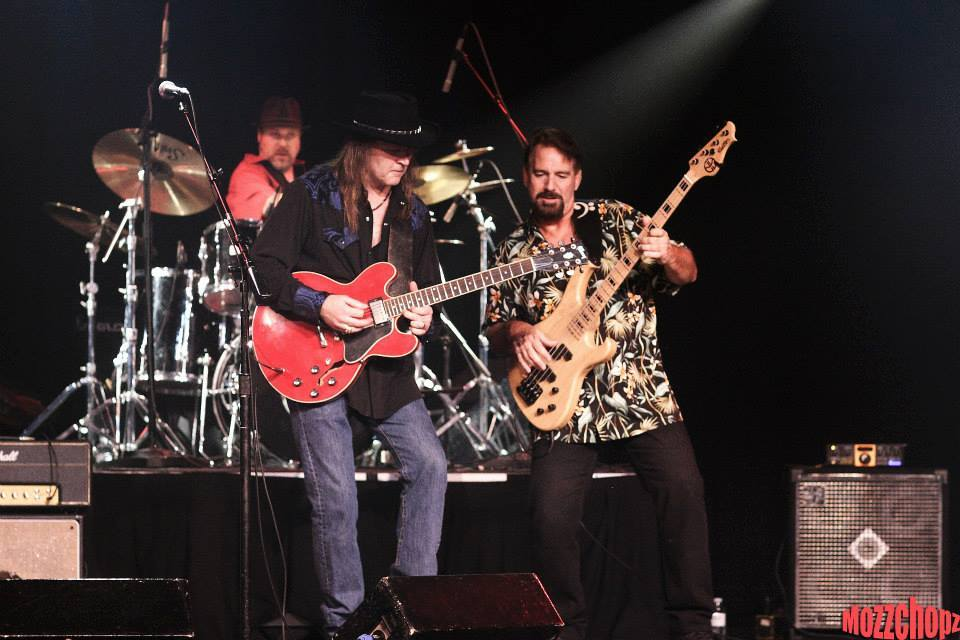 Todd Myers with the Rick Berthod Band